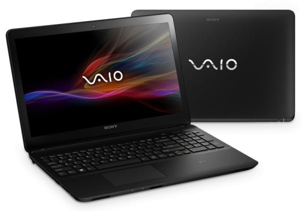 "Sony Vaio Fit E SVF1521E8E/B à 549€, 15"" avec Core i3 Ivy Bridge sous Windows 8 Pro"