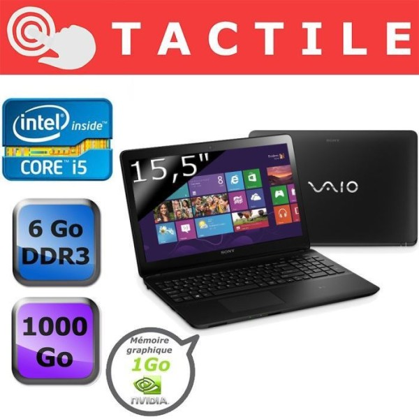 Sony Vaio Fit E SVF1521S2EB 2