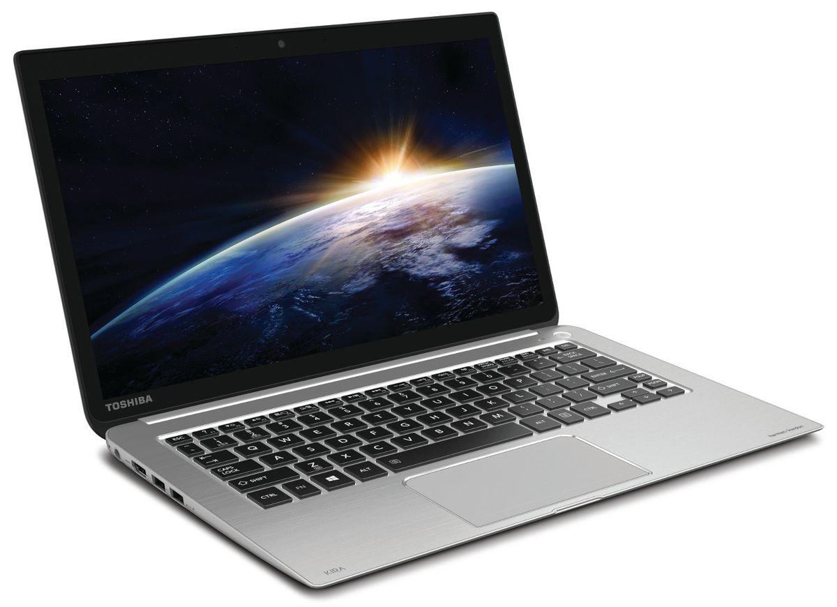 """Toshiba KIRA 101, Ultrabook 13.3"""" tactile WQHD IPS à 1499€ : SSD 256 Go, Core i7 Haswell, 8 Go, 9h"""