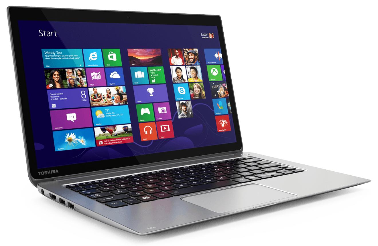 Toshiba Kirabook : ultraportable haut de gamme performant Retina concurrent du MacBook Air