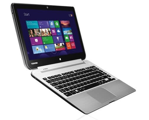 """<span class=""""tagtitre"""">IFA 2013 - </span>Toshiba Satellite Click W30(D)t 13.3"""" Full HD tactile IPS/Tablette sous Haswell et Temash"""