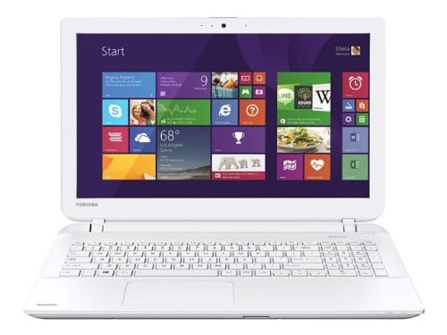 """Toshiba Satellite L50-B-117, 15.6"""" blanc à 369€ avec Core i3 Ivy Bridge et disque dur de 500 Go"""