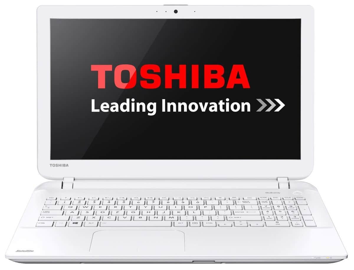 Toshiba Satellite L50-B-2EW en vente flash à 459€, PC portable 15 pouces