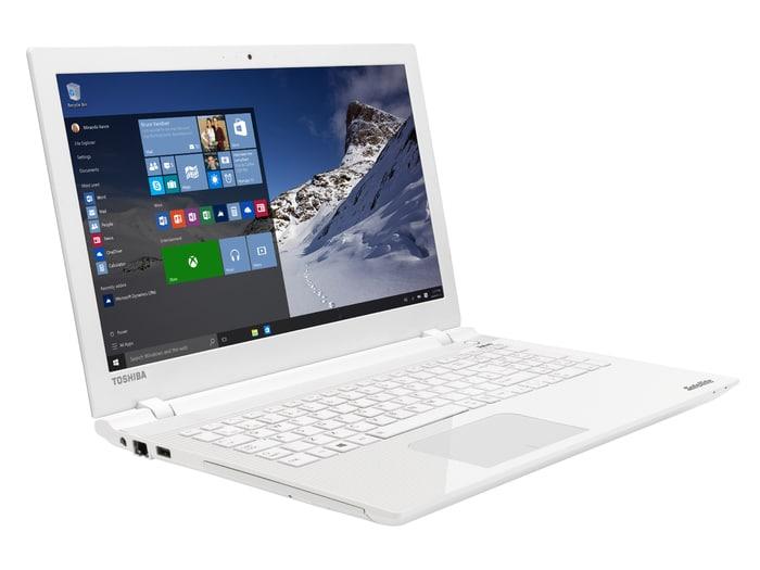 """<span class=""""tagtitre"""">Promo 639€ - </span>Toshiba Satellite L50-C-1VH, PC portable 15 pouces blanc"""