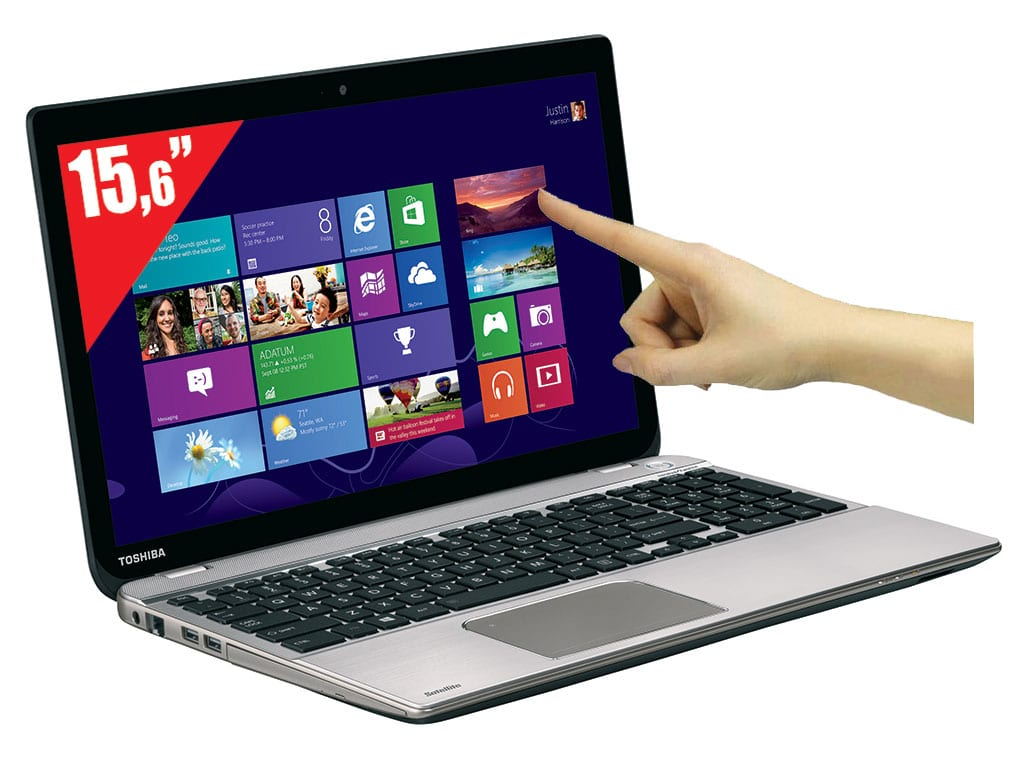 """Toshiba Satellite P50t-A-11M, 15.6"""" tactile Full HD : Core i7 Haswell, 8 Go, Blu-Ray, GT 740M, 1 To, vente flash 1049€"""