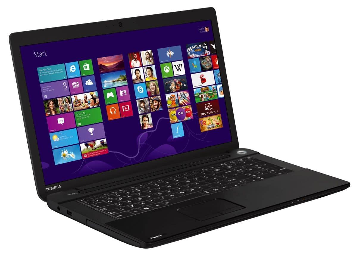 "Toshiba Satellite Pro C70-A-13Q, 17.3"" mat à 419€ avec Pentium Dual Core Ivy Bridge, 500 Go"