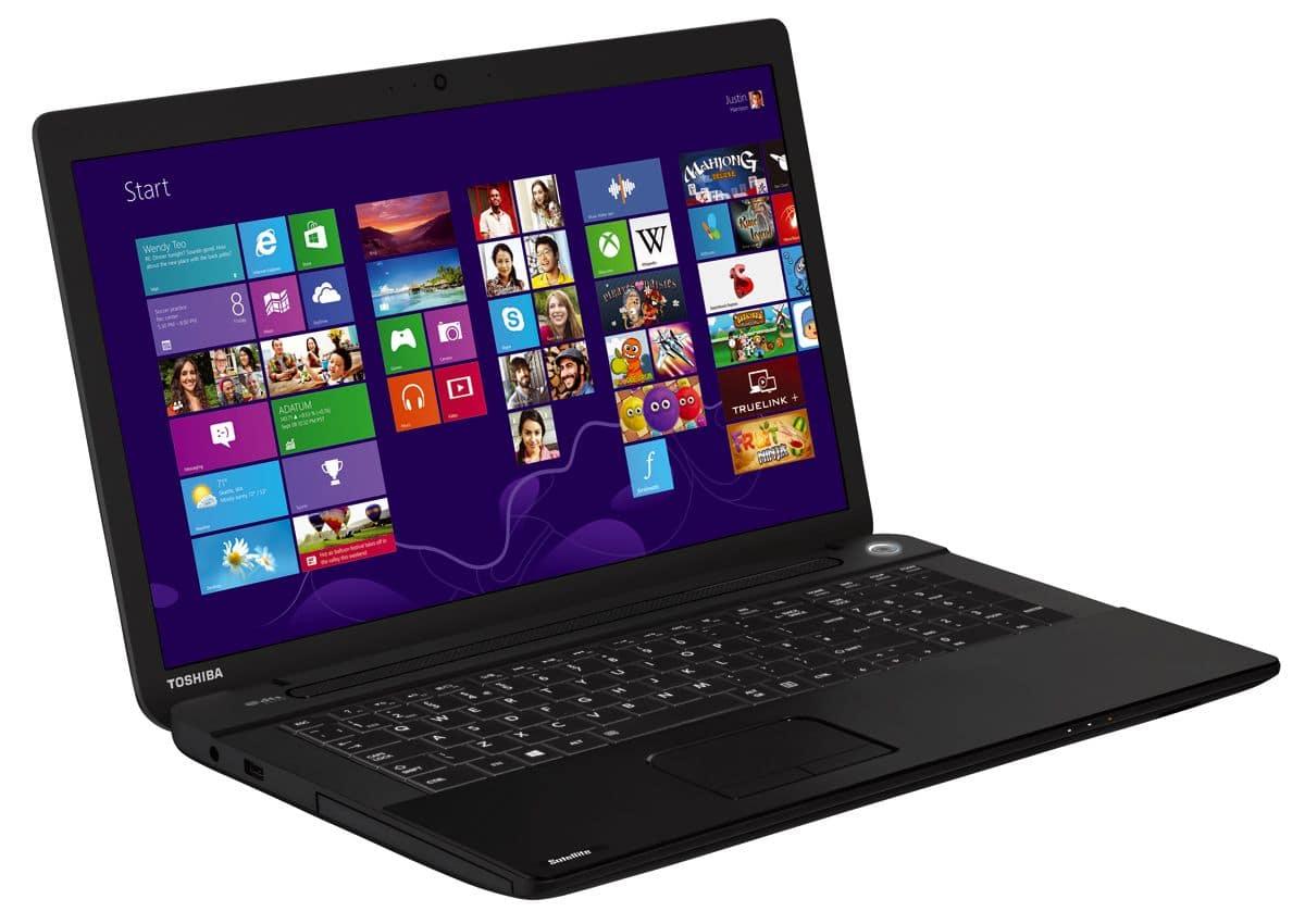 """Toshiba Satellite Pro C70-B-10F, 17.3"""" mat avec Core i3 Haswell, 500 Go sous Windows 7 Pro à 615€"""