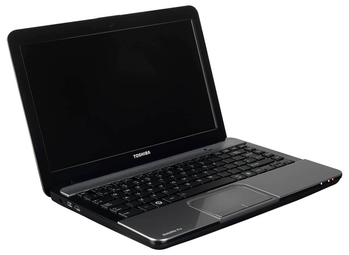 """Toshiba Satellite Pro L830-162, 13.3"""" Win7/8 Pro à 599€ avec Core i3, 500 Go, 1.97 Kg"""
