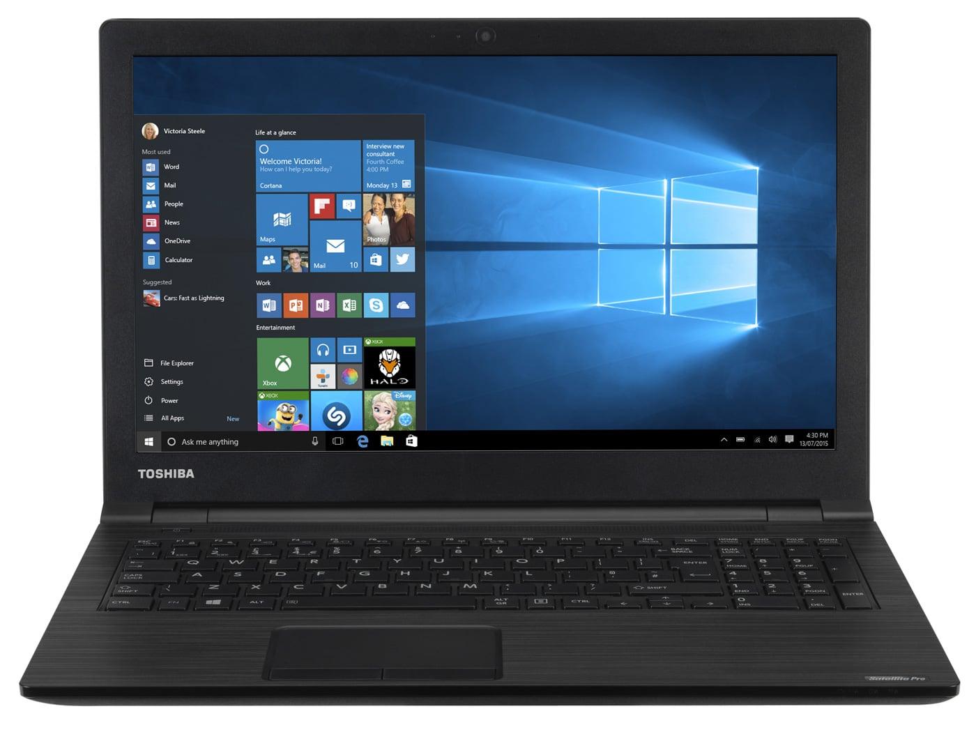 Toshiba Satellite Pro R50-C-15X à 549€, PC portable 15 pouces mat Core i3 Skylake