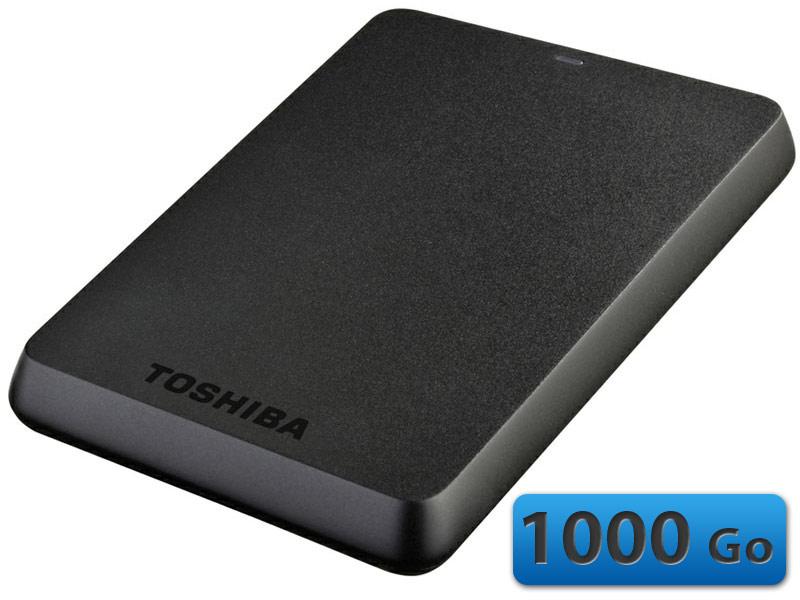 "<span class=""tagtitre"">Bon Plan - </span>disque dur externe 2.5"" Toshiba Stor.E Basics 1000 Go USB 3.0 à 69€"