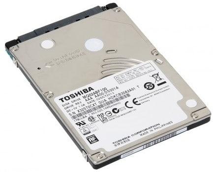 """Toshiba annonce un disque dur 2.5"""" de 1 To et 7mm d'épaisseur"""