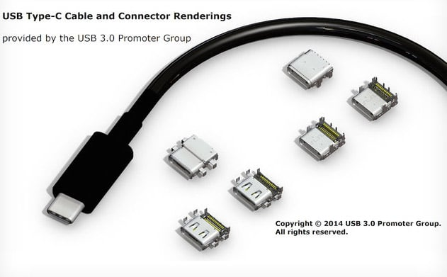 USB 3.1 Type C, le connecteur réversible est prêt