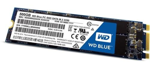"<span class=""tagtitre"">Bon Plan - </span>SSD M.2 Western Digital Blue de 500 Go en promo à 159 euros"