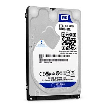 Western Digital inaugure un SSHD Blue de 1 To de 2.5 pouces