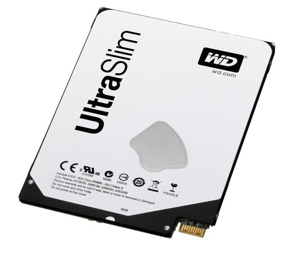 """Western Digital : disques durs et hybrides 2.5"""" de 5mm d'épaisseur pour Ultrabooks"""
