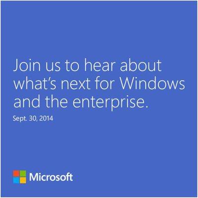 Windows 30setp14