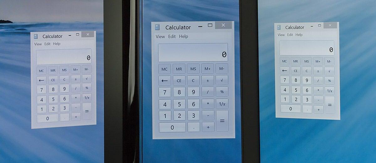 Windows 8.1 : support amélioré pour les écrans haute definition et configurations multi écrans