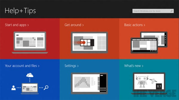 Windows 8.1 build 9471 guides 1
