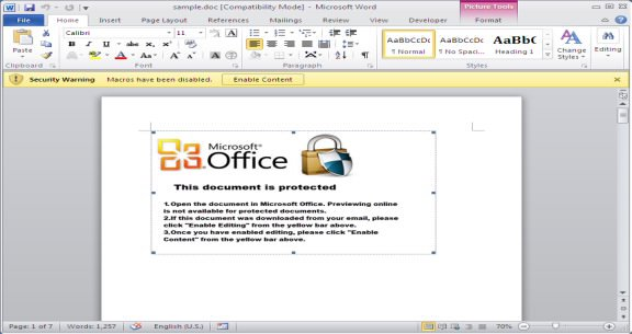 "<span class=""tagtitre"">Microsoft Word - </span>un malware infecte Windows et macOS"
