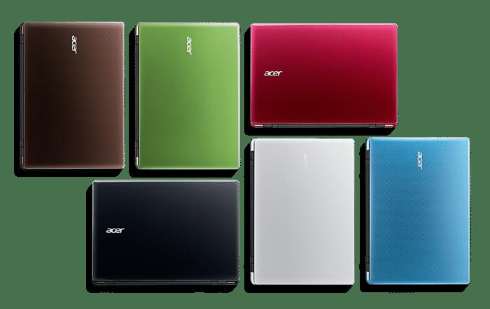 Acer dévoile ses nouveautés, du tactile et de la couleur au programme