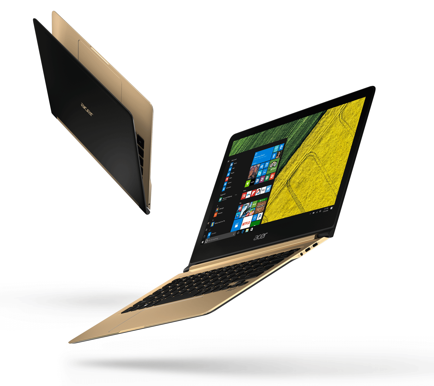 Revue de presse des tests publiés sur le Web (Acer Swift 7 SF713-51)