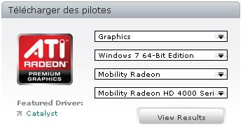 pilote carte graphique amd AMD : les pilotes Catalyst 9.9 pour cartes graphiques Radeon
