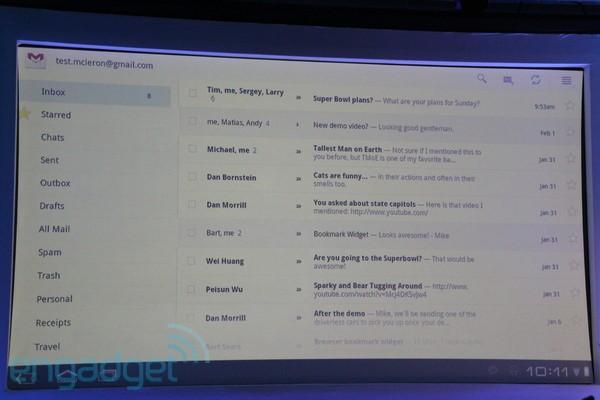Android 3.0 Honeucomb 01