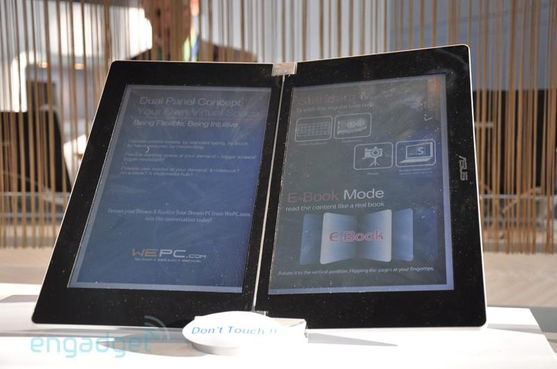 Asus concept double ecran pc