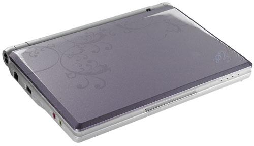 Asus Eee PC 900HA violet