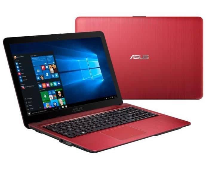 Asus R540LJ-DM173T, PC portable 15 pouces Rouge léger à 499€