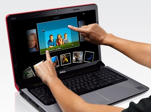 Dell Studio 17 multi-touch