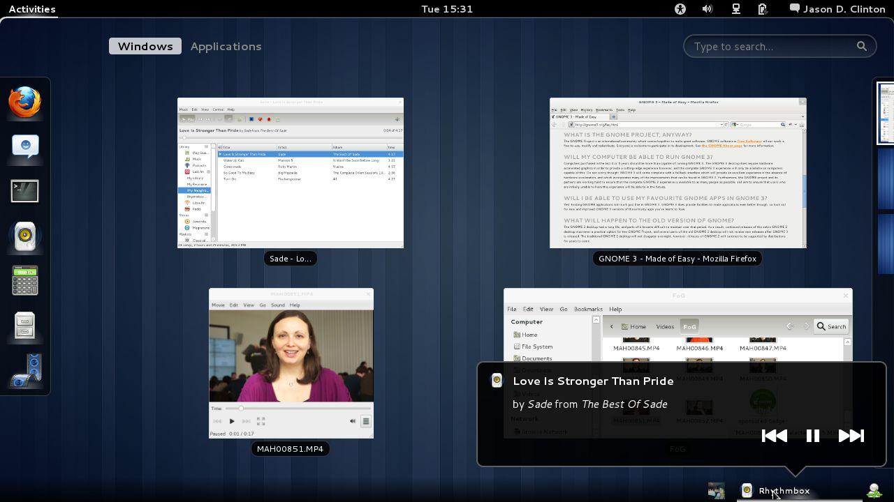 Gnome 3 0 le nouvel environnement de bureau pour linux de sortie laptopspirit - Environnement bureau linux ...