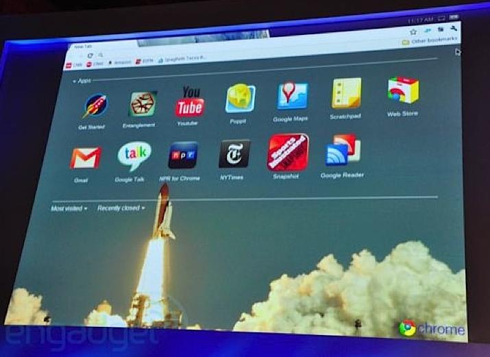 Google Chrome OS officiel