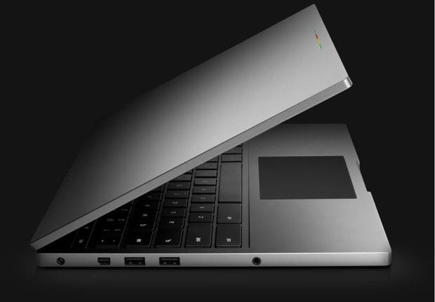 Google Chromebook Pixel Retina tactile multi-touch