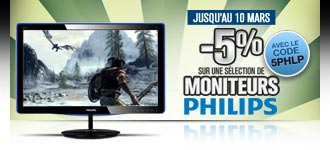 GrosBill 5% Réductions moniteurs écrans Philips 10mars13