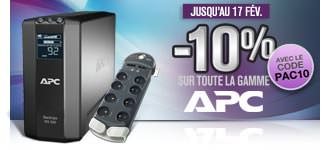 GrosBill Réductions 10% APC PAC10 17fev13