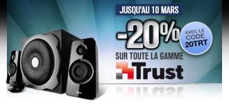GrosBill Réductions 20% périphériques Trust 10mars03