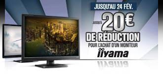 GrosBill Réductions écrans Iiyama 24fev13