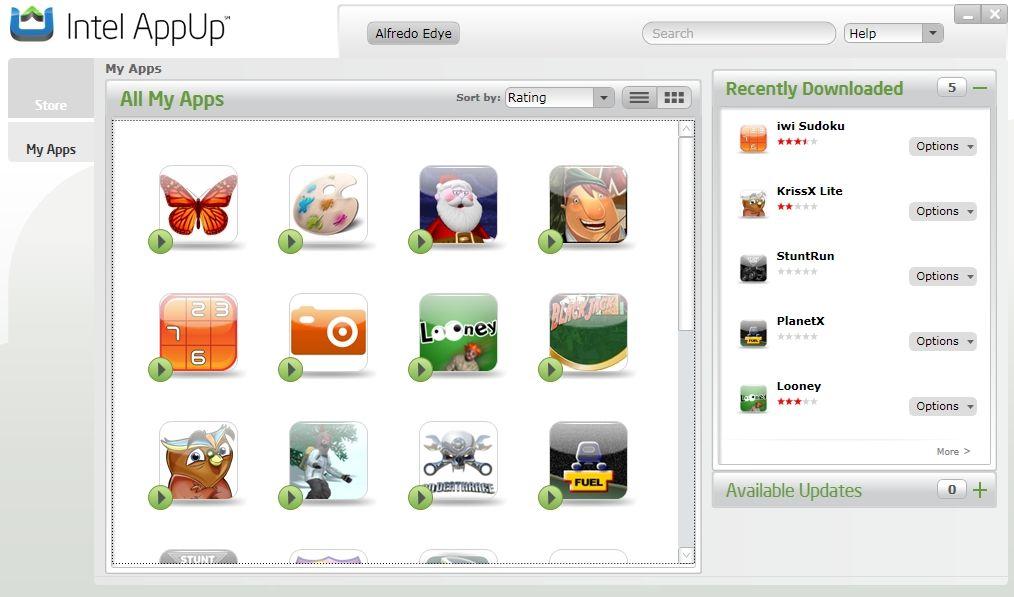IDF 2010 Intel AppUp