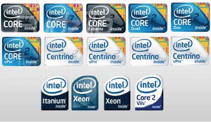 Intel 14 logos 1er avril 2009