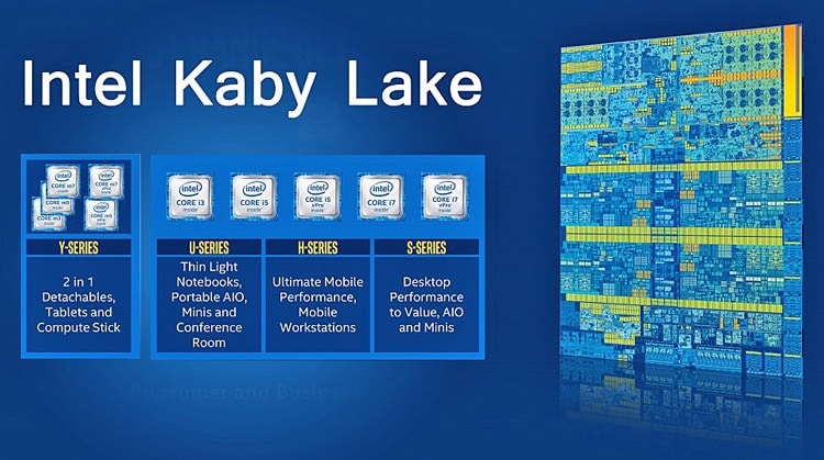 """<span class=""""tagtitre"""">IDF 2016 - </span>Intel officialise ses processeurs Kaby Lake prévus pour fin 2016"""