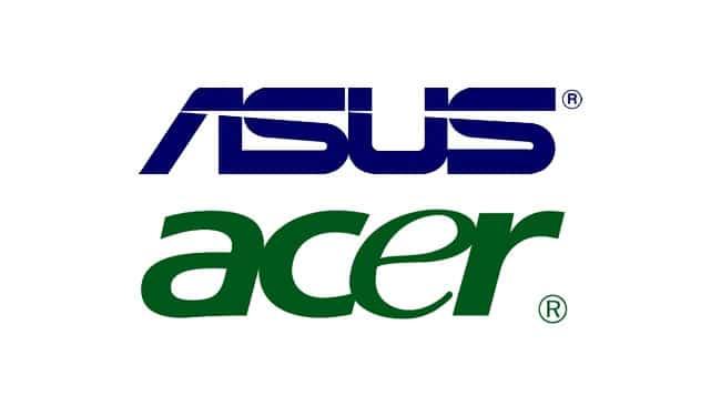 Rumeur : Acer et Asus pourraient fusionner