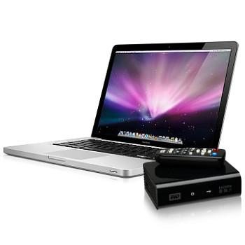 MacBook Pro 15 et Western Digital TV HD Media Player