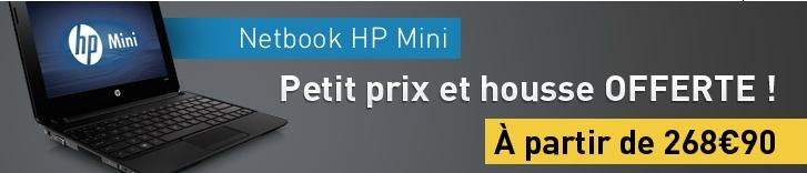 Materiel.net house Caselogic offerte HP Mini Cedar Trail