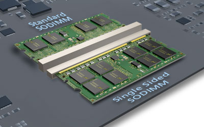 Micron TE Connectivity Single Sided So-DIMM