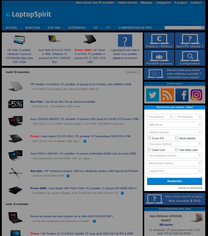 Notre meilleure offre Ordinateur portable reconditionné :