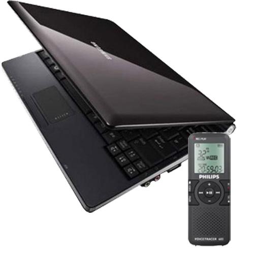 Samsung NC10 Dictaphone MP3 Voice LFH600