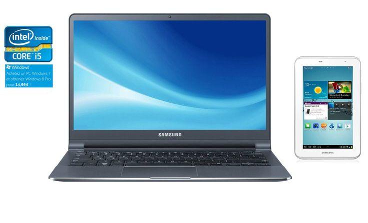 Samsung NP900X3C-A01FR + GALAXY TAB 2 7