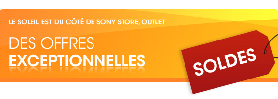 Sony Outlet Soldes