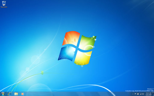 Windows 7 build 7232 wallpaper
